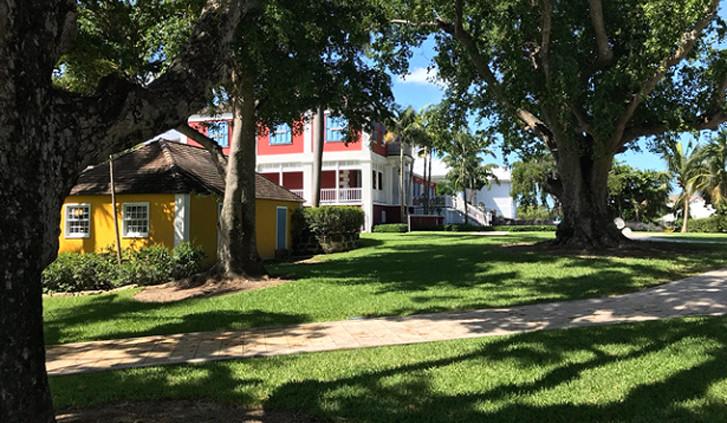 Location reale della scena di Casino Royale alle Bahamas