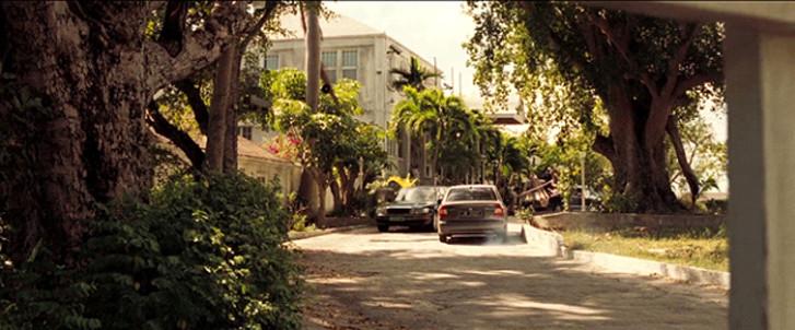 Scena di Casino Royale alle Bahamas