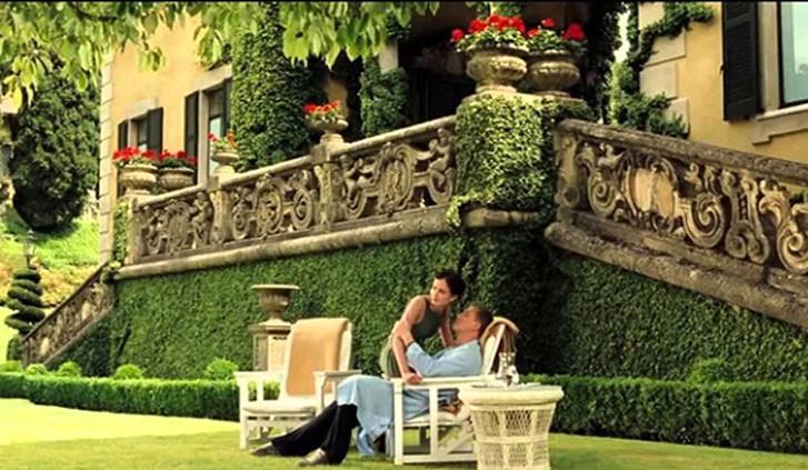 Scena del film Casino Royale - Lago di Como