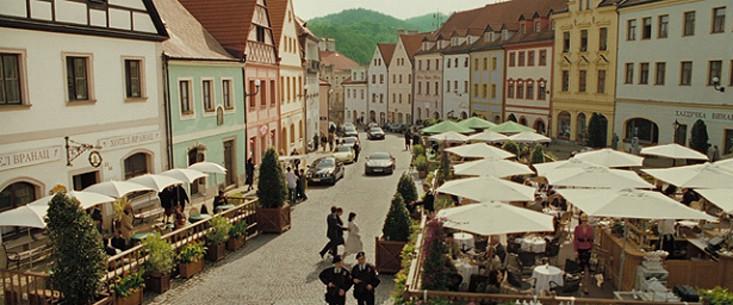 Scena del film Casino Royale - Repubblica Ceca