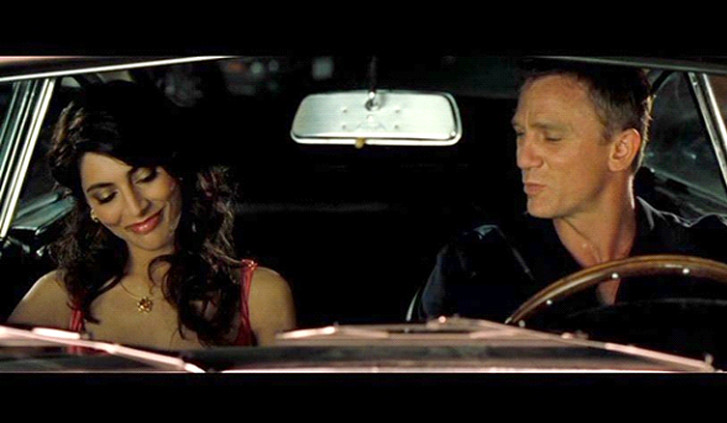 Scena del film Casino Royale