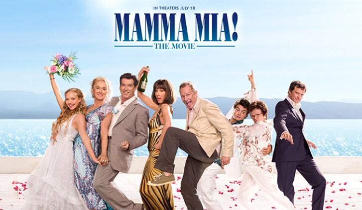 Locandina Film Mamma mia - Sporadi - Grecia