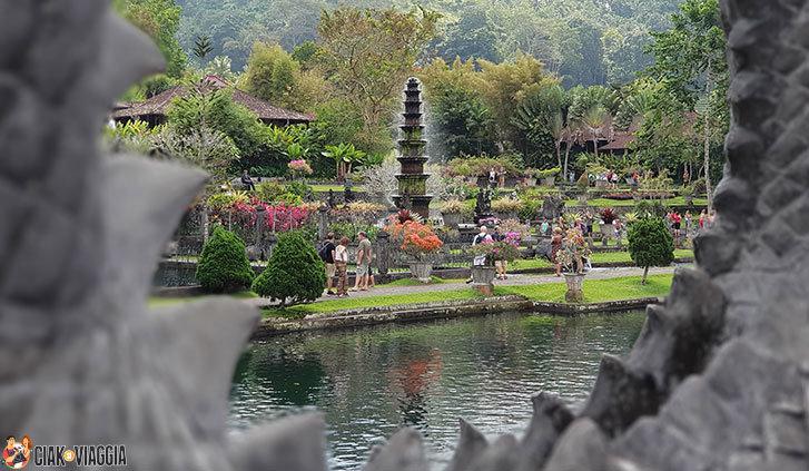Giochi d'acqua - Tempio dell'acqua Tirta Gangga