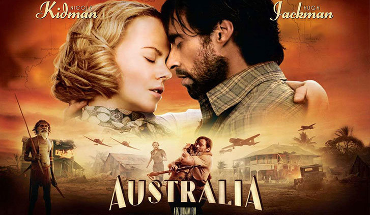 Australia locandina del film