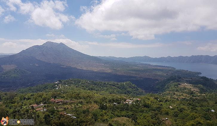 Kintamani e vista sul Mont-Batur