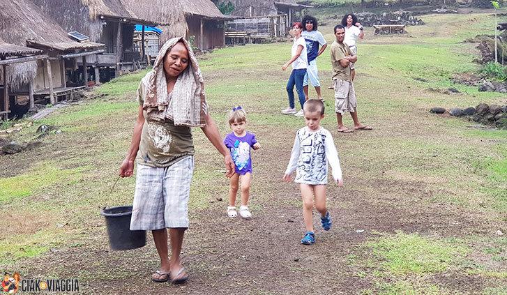 Flores-Bajawa-Belaraghi Villaggio Tradizionale