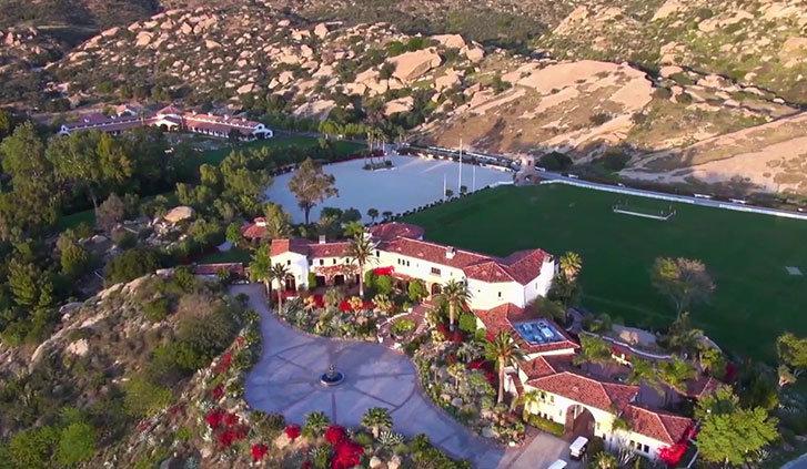 Hummingbird Nest Ranch-Santa Susana(villa di Elena)