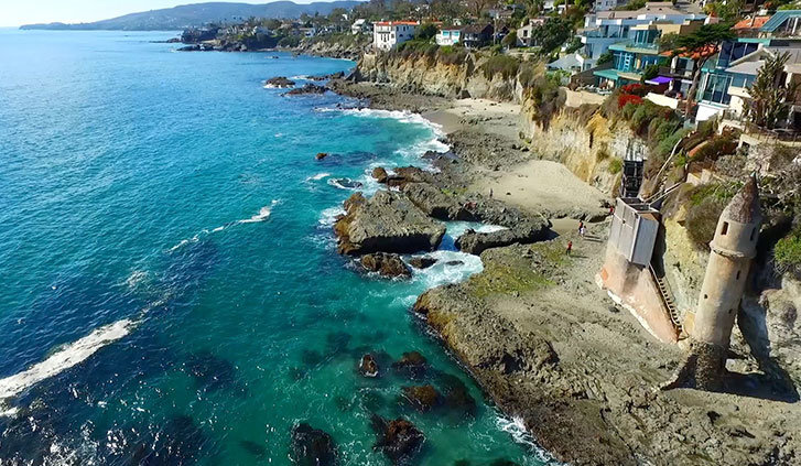 Laguna Beach, Victoria Beach