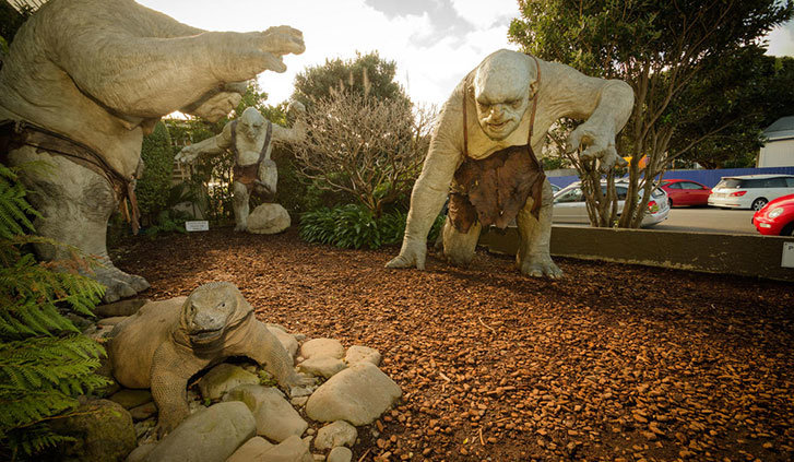 Weta cave workshop