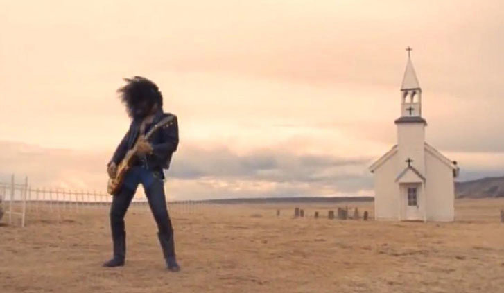 Slash nel video di November Rain