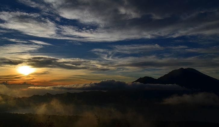 Alba sul Mont Batur - Bali