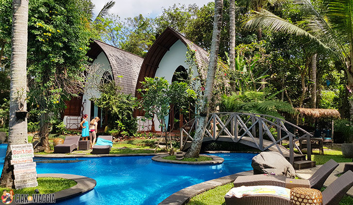 Ubud - Resort in stile balinese