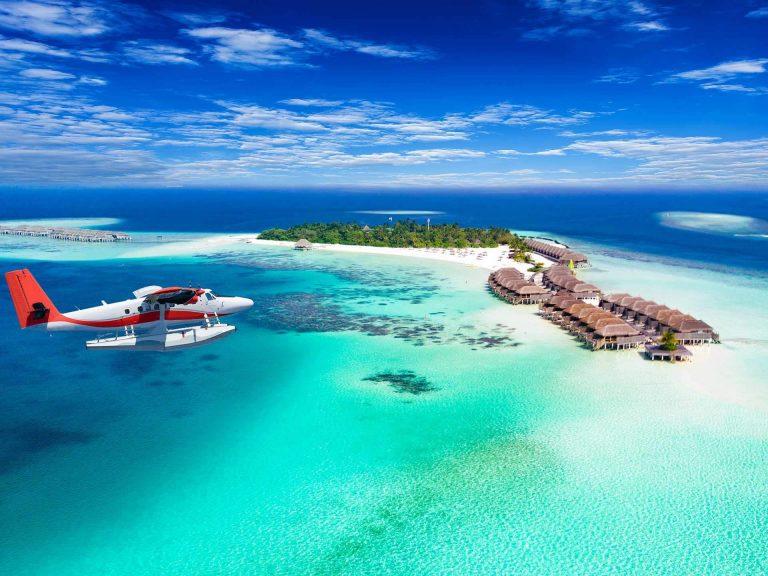 Vacanze alle Maldive - idrovolante