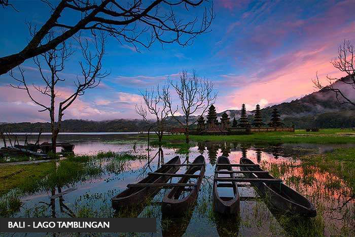 Lago Tamblingan - Bali - Tour Indonesia