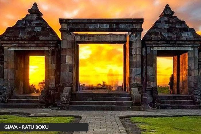 ratu boko - Tour Giava&Bali