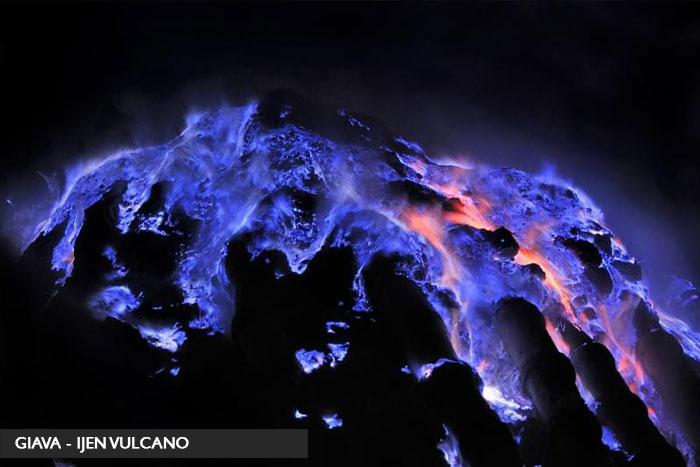 Ijen vulcano - lava blu - giava tour