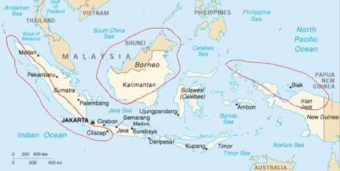 indonesia equatoriale