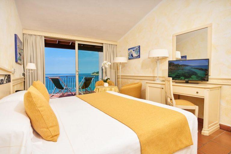 Hotel Hermitage camera vista mare
